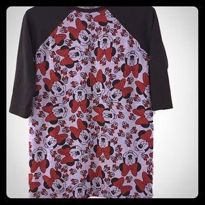 Girls LuLaRoe Mickey Mouse Shirt